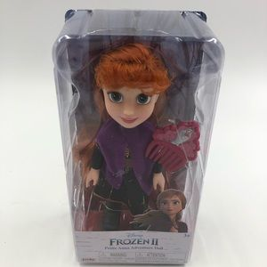 New Disney frozen II petite Anna adventure doll